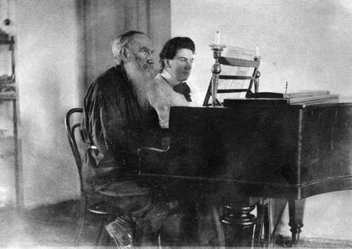 Tolstoy at the Piano