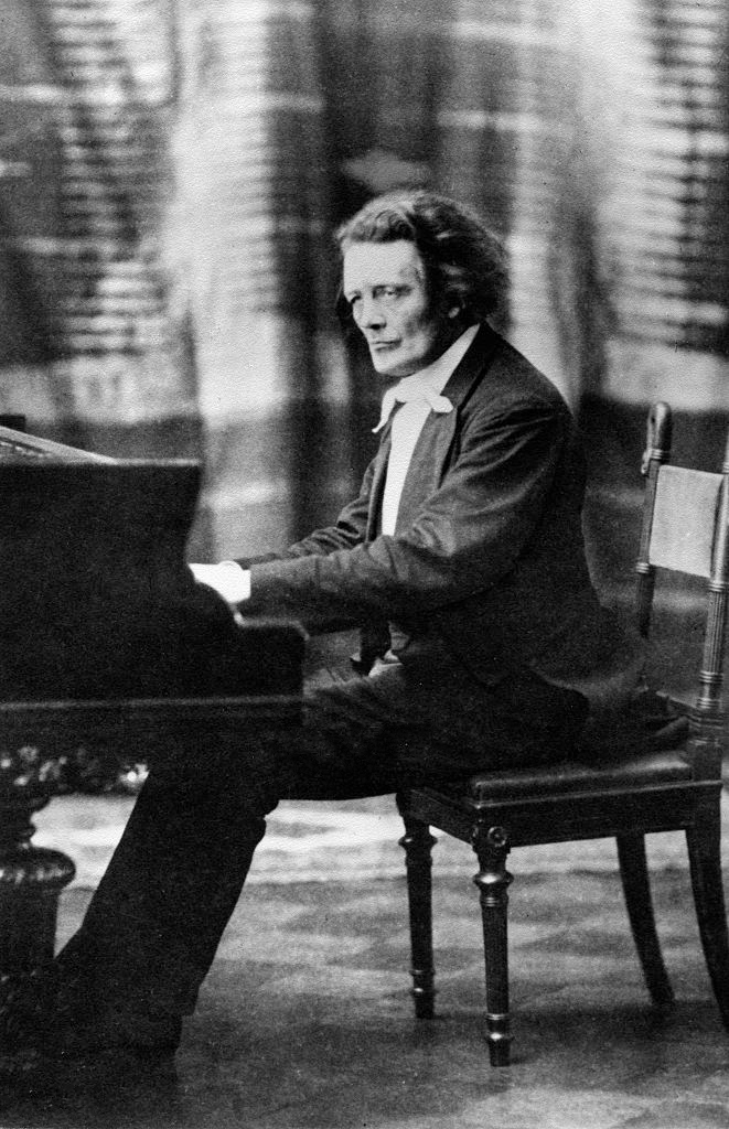 Rubinstein at the piano